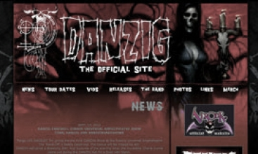 Official Danzig Website