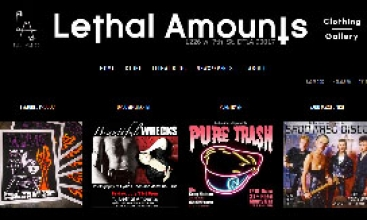 Lethal Amounts Clothing